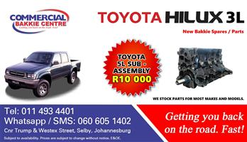 toyota hilux 5l sub assembly