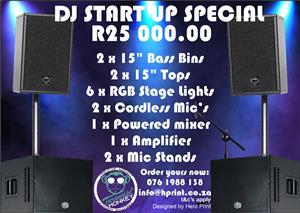 DJ Startup sound system special