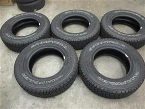 245/75R17 GOODYEAR WRANGLER TYRES FOR SALE