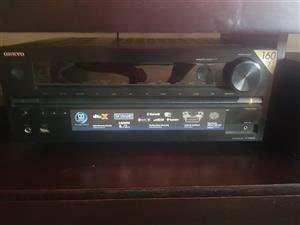Okyo amp, polk audio and tannoy speakers