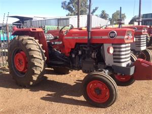 Red Massey Ferguson (MF) 188 55kW/75Hp 2x4 Pre-Owned Tractor