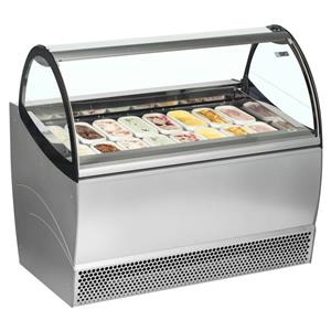New Ice Cream Display Fridge. One Year Warranty