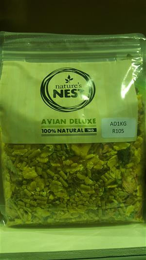 Natures Nest bird food available at PETS4LIFE BRACKENFELL