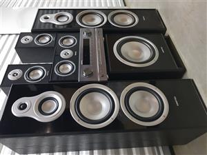 sinotec complete tower 5.1 home theatre speaker system