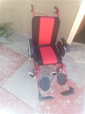 Swish aluminium detachable wheelchair