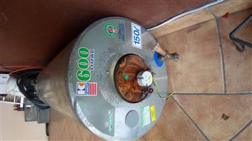 150 L kwikot geyser for sale