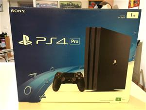 Sony PS4 pro 1tb as new R5999 0744957666 im situated in mayfair Johannesburg