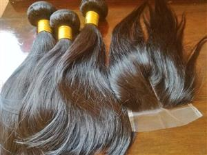 Series Brazilian Hair 3pcs 11A Grade Straight Human Hair Extension