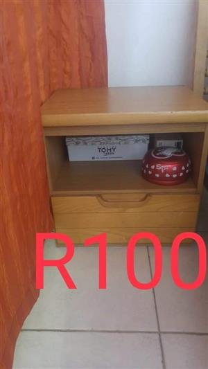 Wooden shelf drawer stand for sale