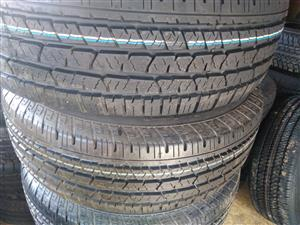Continental cross contact LX 255/70/R16 tyres