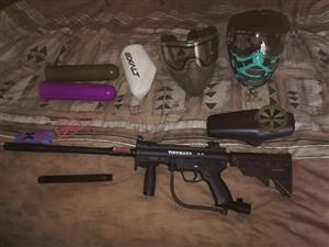 Tippman A-5 with extras