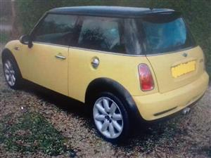 Mini R50 now stripping for spares