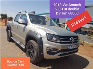 2013 VW Amarok double cab AMAROK 2.0 BiTDi HIGHLINE 132KW 4MOT A/T D/C P/U