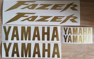 2001 - 04 Yamaha Fazer FZ 600 Fazer stickers decal kits, used for sale  Vryburg
