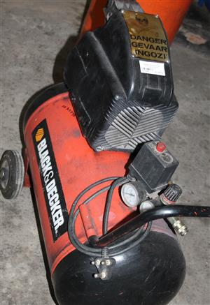 Black and decker 50L compressor S031789A #Rosettenvillepawnshop