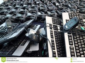 Sale of 2nd Hand - Strong Keyboard and Mice at low low Cost All Brand Available