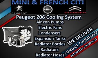 Peugeot 206 Cooling System