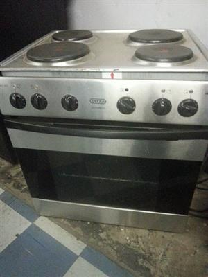 Defy oven and 4 plate stove top