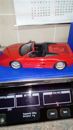 1/18 scale UT Model Ferrari Spyder