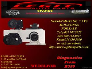 NISSAN MURANO 3.5 V6 MOUNTINGS  FOR SALE