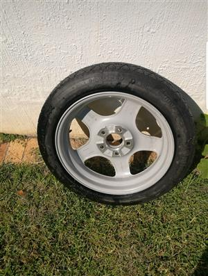 """Continental 17"""" BMW Tyre and rim spare-wheel for sale"""