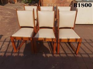 6 x Oak Chairs
