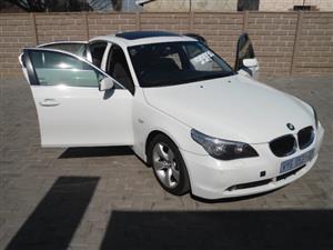 2005 BMW 5 Series 530i Exclusive steptronic
