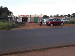 shop to let at hebron road pretoria