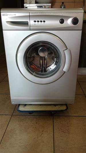 Very Nice Metallic DEFY Front Loader Washing Machine For Sale