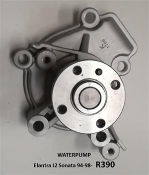 WATER PUMP *NEW* - ELANTRA J2 / SONATA 94-98