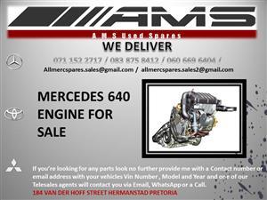 MERCEDES 640 ENGINE