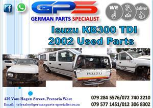Used Isuzu KB300 TDI 2002 Parts for Sale