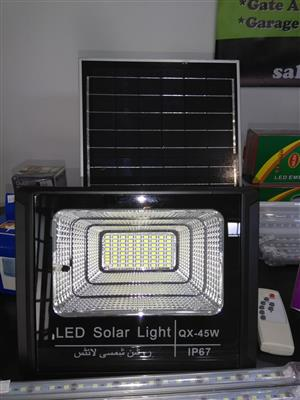 Solar security lights for sae