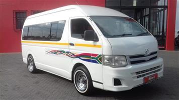 2012 Toyota Quantum 2.5D 4D crew cab