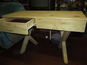 New Pine desk for sale.