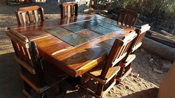 6 Seater dining room table