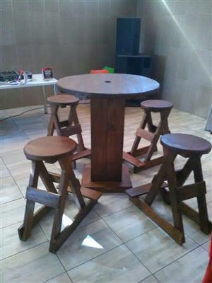 5 piece bar stools set for sale