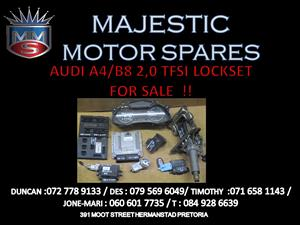 AUDI A4 B8 TFSI LOCK SET FOR SALE !!
