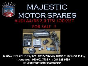 AUDI A4 B8 TFSI LOCK SET FOR SALE !!