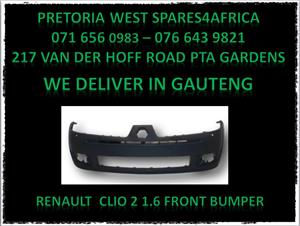 Renault front bumper for sale
