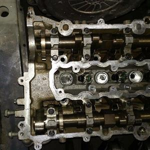 VAUXHALL CORSA E 1.0 PETROL B10XFT TURBO CYLINDER HEAD WITH CAMS