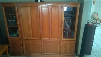 TV cabinet, solid Oak