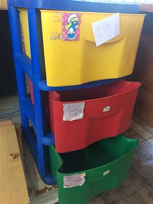 3 Color storage drawer