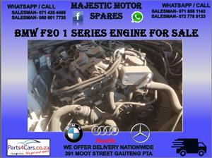 Bmw f20 1 series engine for sale used