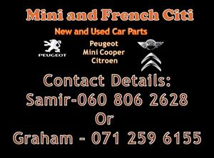 mini cooper used parts for sale