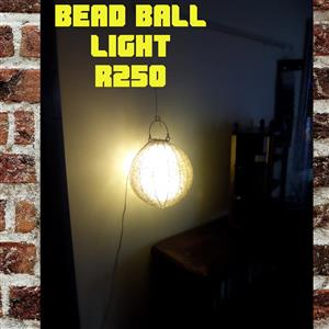 Bead ball light