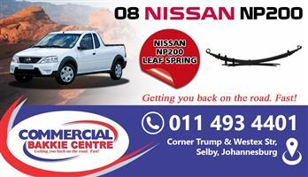nissan np200 leaf spring