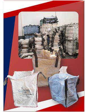 1 Ton Bulk Bags For Sale (Used)