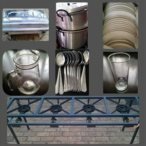 Affordable Catering Equipment HIRE & Catering/Cooking Services