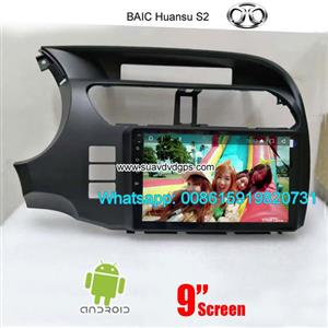 BAIC Huansu S2 Car audio radio update android GPS navigation camera